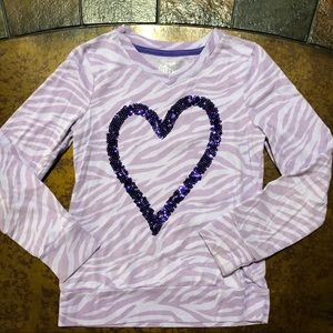 SO brand Girls Size 7/8 long sleeve top